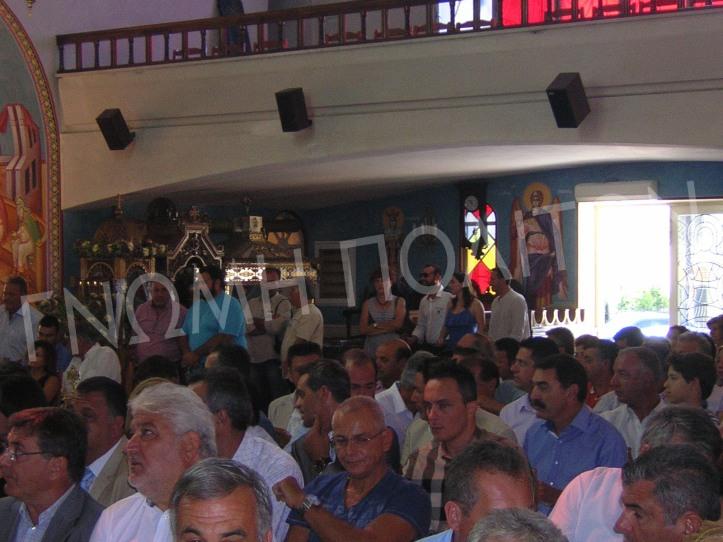 Οι νεοεκλεγέντες δημοτικοί σύμβουλοι: Αμπού Ζολώφ, Τρωγάδης, Σδράλης, Σιάχος, Παπαλέκας, Γκατζογιάννης