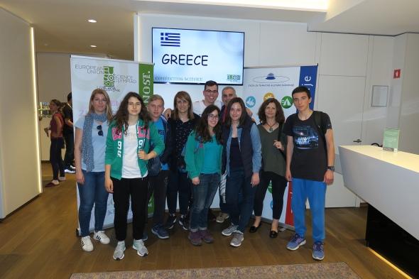 Άφιξη των μαθητών στη Λιουμπλιάνα.