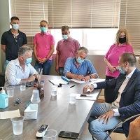 Δηλώσεις του δημάρχου Βέλου-Βόχας για το νέο σύστημα ηλεκτροφωτισμού (Video)