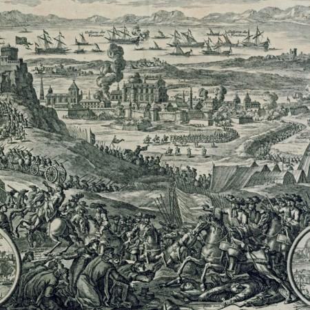 Morosini κατάληψη Κορίνθου