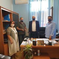 Επίσκεψη Γκιολή στο δήμο Ξυλοκάστρου-Ευρωστίνης