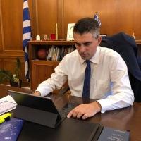 Χρίστος Δήμας: Δωρεάν tablets για τους μαθητές της Κορινθίας