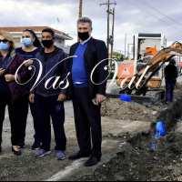 Βασ. Νανόπουλος: Ξεκίνησε το έργο που θα δώσει υψηλής ποιότητας νερό σε Άσσο, Λέχαιο, Περιγιάλι