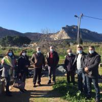 Κόρκα-Νανόπουλος στις Κεγχρεές για την ανάδειξη του αρχαίου λιμανιού