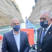 Νίκος Ταγαράς: «Η Διώρυγα αποκτά σύστημα 24ωρης παρακολούθησης και έγκαιρης προειδοποίησης»