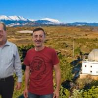 Ικανοποίηση Σταματόπουλου για τις υπογραφές στο Αστεροσκοπείο Κρυονερίου