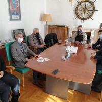 Επίσκεψη ΣΥΡΙΖΑ στη Διώρυγα