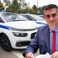 Νέο περιπολικό όχημα στο Α.Τ. Βραχατίου με πρωτοβουλία του Χρ. Δήμα